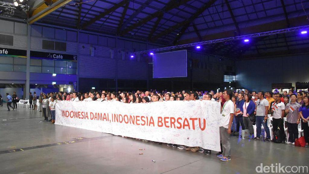 Melihat Antusiasme WNI di Australia Saat Teleconference dengan Jokowi