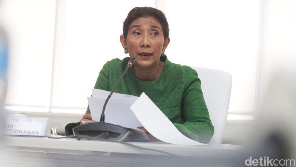 Soal Larangan Penggunaan Cantrang, Susi: No Comment