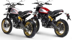 Ducati Scrambler Cafe Racer dan Desert Sled