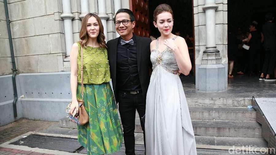 Selebriti di Pernikahan Sandra Dewi dan Harvey Moeis
