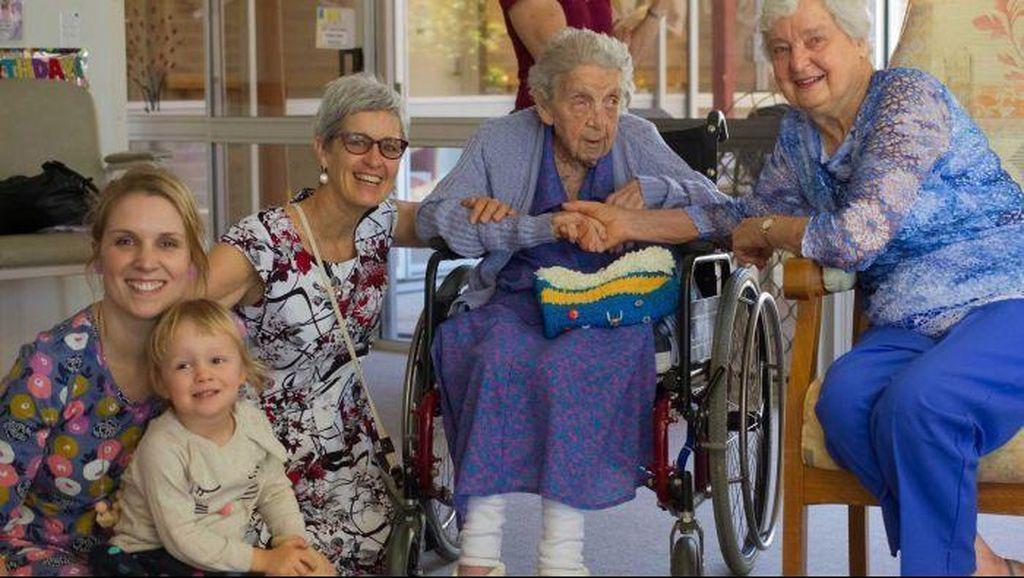 Penduduk Tertua di Queensland Tetap Aktif di Usia 109 tahun
