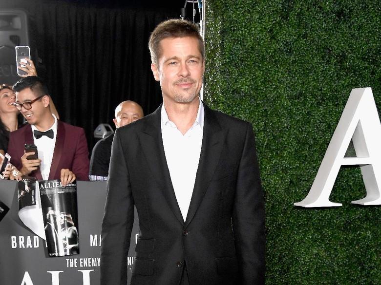 Brad Pitt Tak Pernah Terpikir Bunuh Diri Meski Rumah Tangga Berantakan