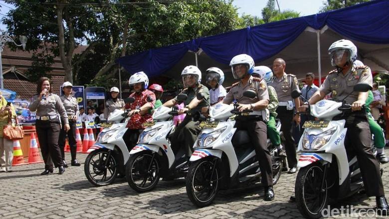 Polisi Ajak 1.200 Siswa di Kabupaten Semarang Tertib Lalu-lintas