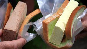 Es Krim Potong Diapit Roti Tawar Racikan Uncle dari Singapura