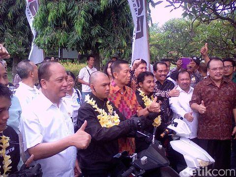 Motor Listrik Gesits Akhirnya Finish di Bali