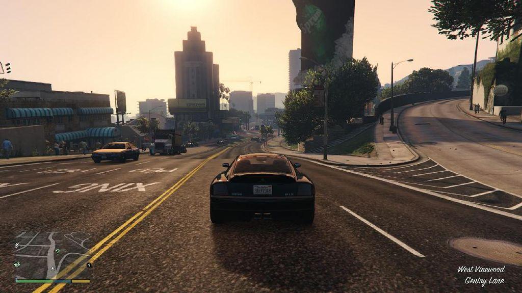 Grand Theft Auto V Sekarang Punya Menu Balapan