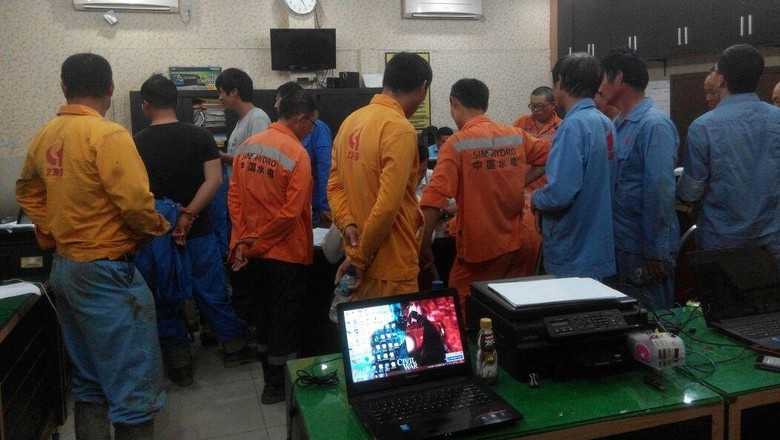 Polda Sumut Amankan 15 Pekerja Asing Asal Tiongkok yang Tak Punya Izin Kerja