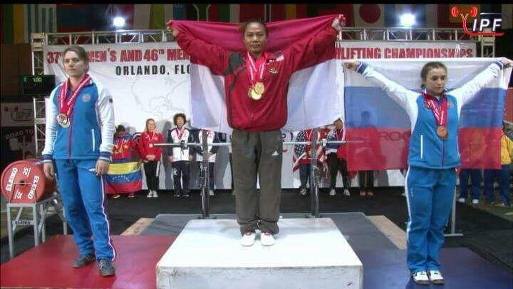 Sri Hartati Beri Indonesia Dua Emas di World Open Womens Championships