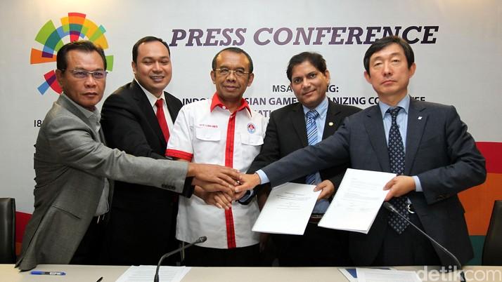 Panitia Asian Games Gandeng Perusahaan TI Korea