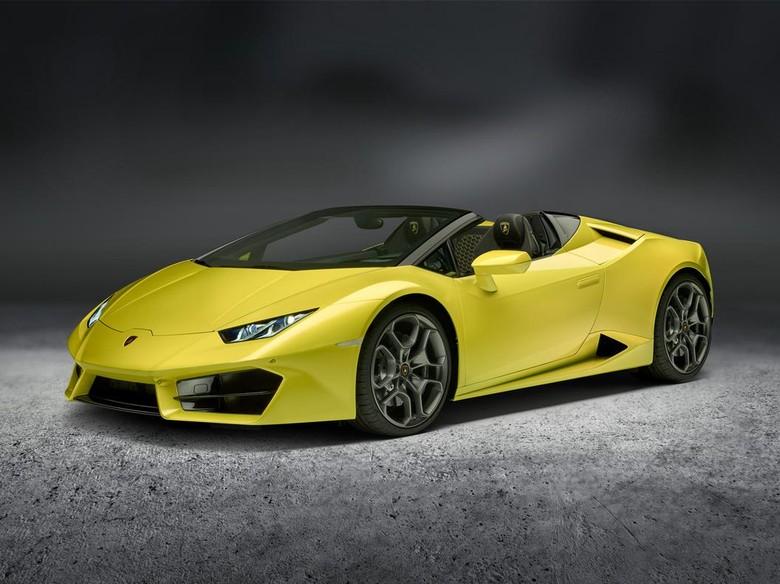 Lamborghini Huracan Spyder Usung Penggerak Road Belakang