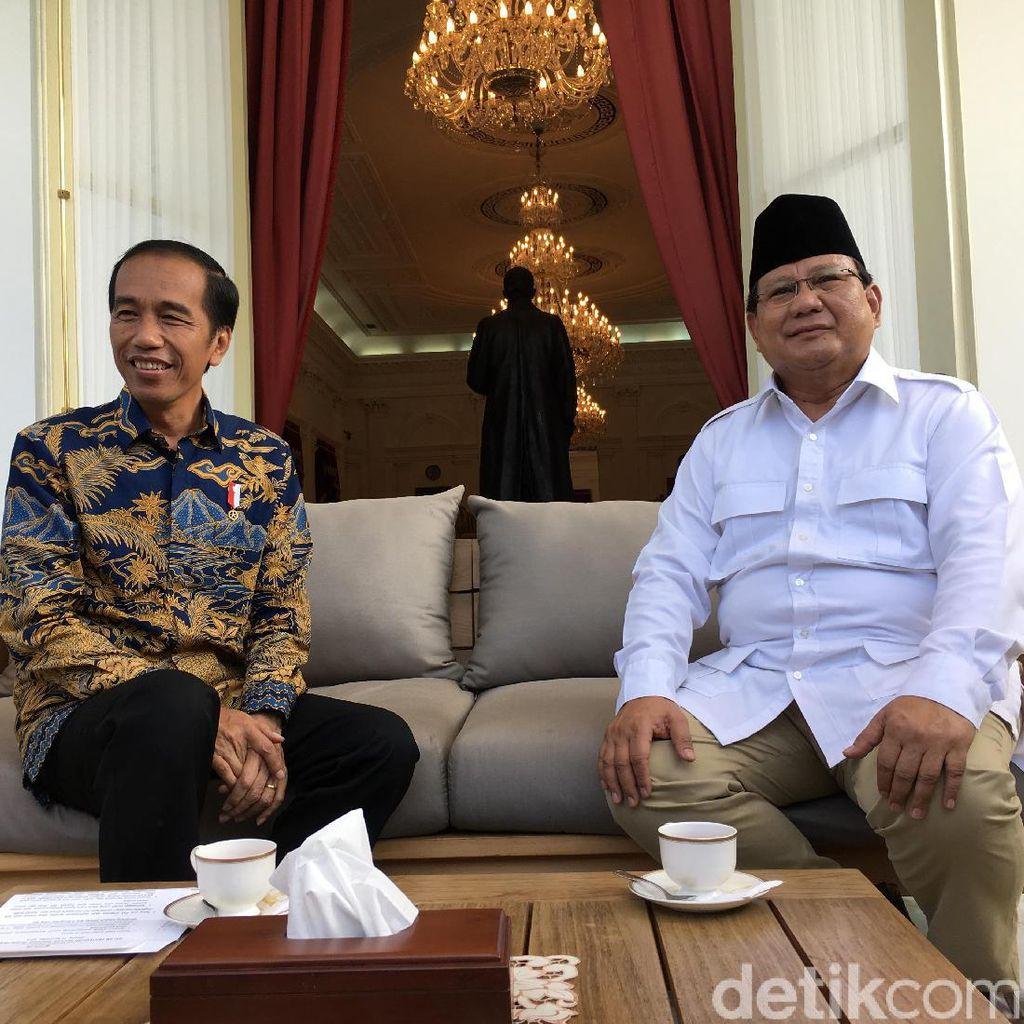 Peta Kekuatan Sementara Jokowi Vs Prabowo untuk Pilpres 2019