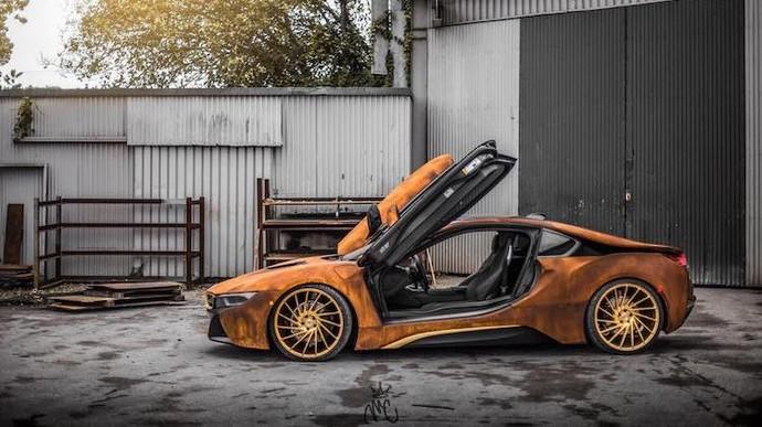 BMW i8 Ini Penuh Karat?