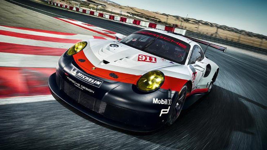 Porsche Kenalkan Mobil Balap 911 RSR