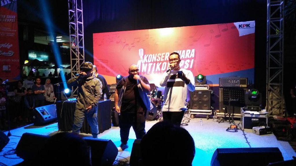 KPK Gelar Konser Suara Antikorupsi