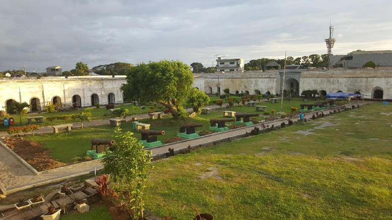 Foto: Benteng Fort Marlborough di Bengkulu (Fitraya/detikTravel)