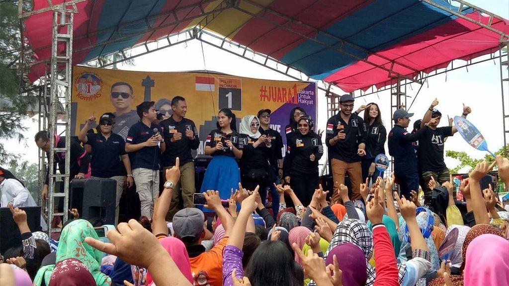 Annisa Pohan Nyanyi, Agus-Sylvi Goyang Dumang di Pulau Kelapa