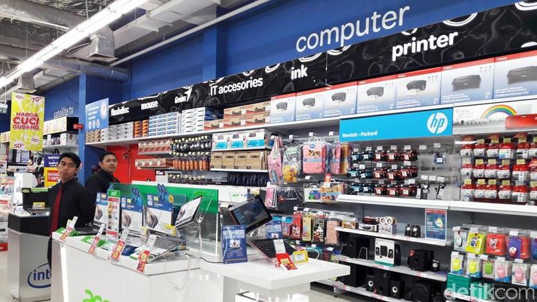 Promo Cashback dan Diskon 10% Laptop di Transmart Carrefour
