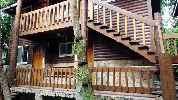 Resort yang ada di Dakeng Leisure Farm (Wahyu/detikTravel)