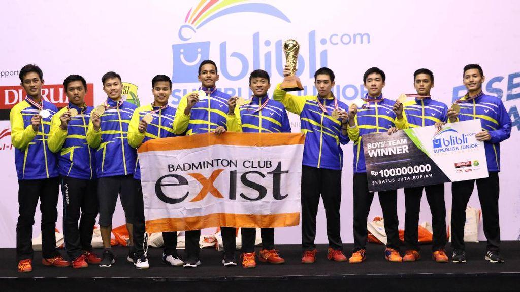PB Exist Bertekad Pertahankan Piala Liem Swie King