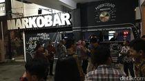 Usai Sosialisasi Tax Amnesty, Jokowi Sambangi Kedai Markobar di Makassar