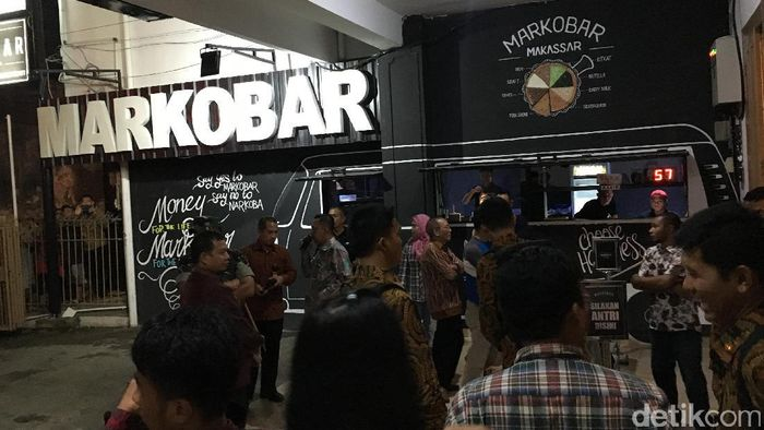 Foto: Jokowi ke Markobar Makassar/ Jordan detikcom