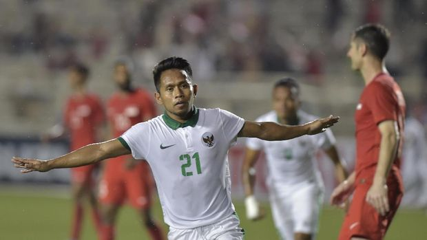Andik Vermansah, salah satu pemain yang sukses di luar negeri merumput di klub Malaysia, Selangor FA. (