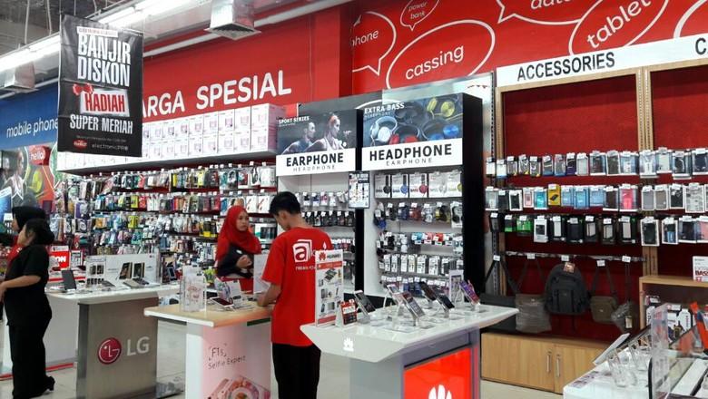 Aneka Smartphone Diskon 5% dan 10% di Transmart Carrefour