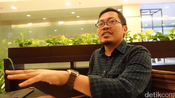 CEO Bukalapak Achmad Zaky. Foto: detikINET/adi fida rahman