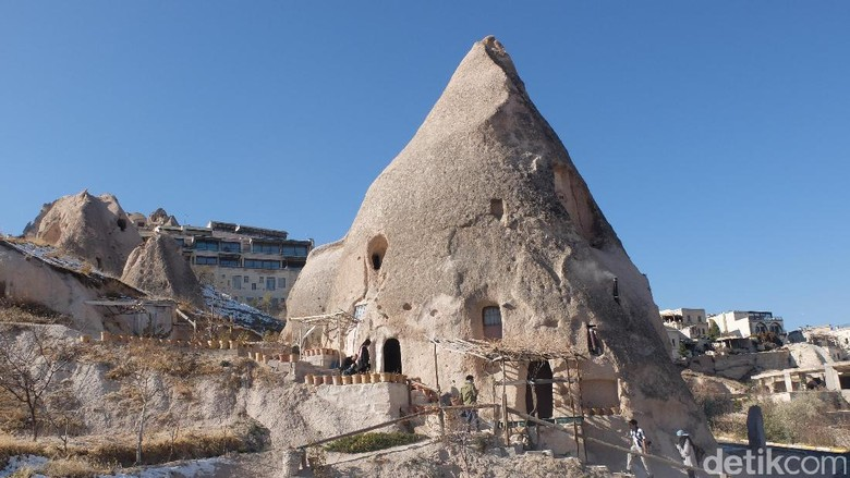 Foto: Rumah gua di Cappadocia (Rois Jajeli/detikTravel)