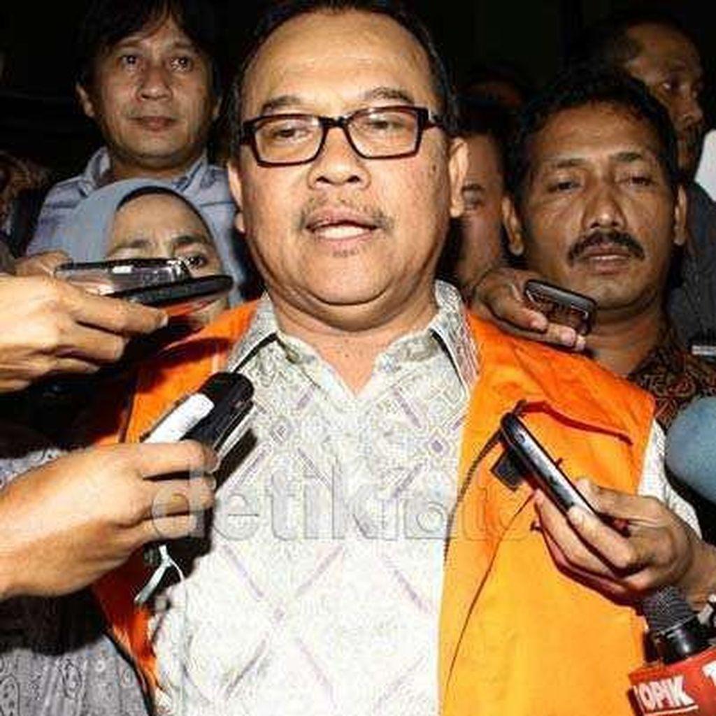 MA Sunat Hukuman Eks Gubernur Riau di Kasus Korupsi