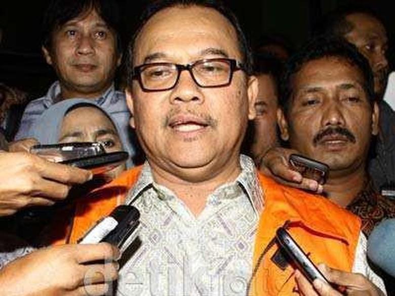 MA Kabulkan PK Eks Gubernur - Pekanbaru Mahkamah Agung mengabulkan peninjau kembali yang diajukan Rusli terpidana kasus korupsi PON dan Tapi salinan PK itu