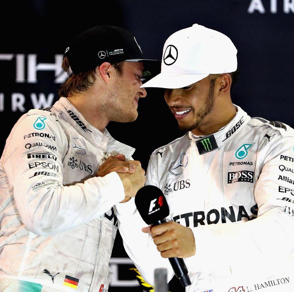 Rosberg Bocorkan Kelemahan Hamilton