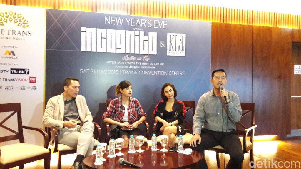 Malam Tahun Baru, Incognito & Kla Project Akan Hibur Traveler di The Trans Luxury Hotel Bandung
