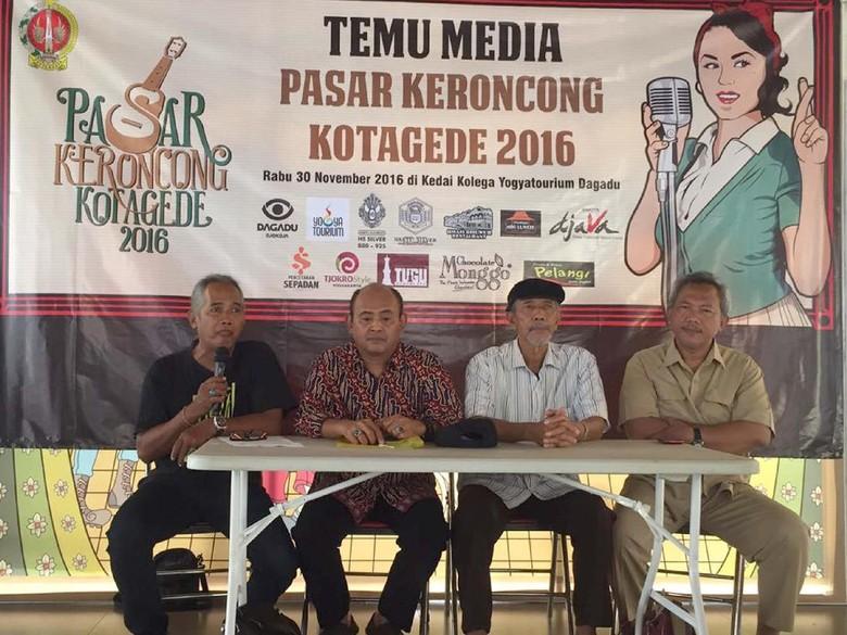 Pasar Keroncong Kotagede 2016 Jadi Tribute untuk Kusbini