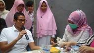 Was-was Tes Kesehatan, Sandiaga Kaget Asam Uratnya Tinggi