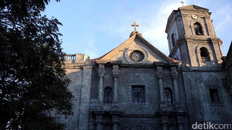 Foto: Gereja San Agustin di Manila (Rachman Haryanto/detikTravel)