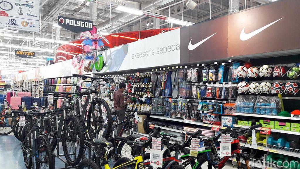 Diskon Sampai 30% Kelengkapan Bersepeda di Transmart Carrefour