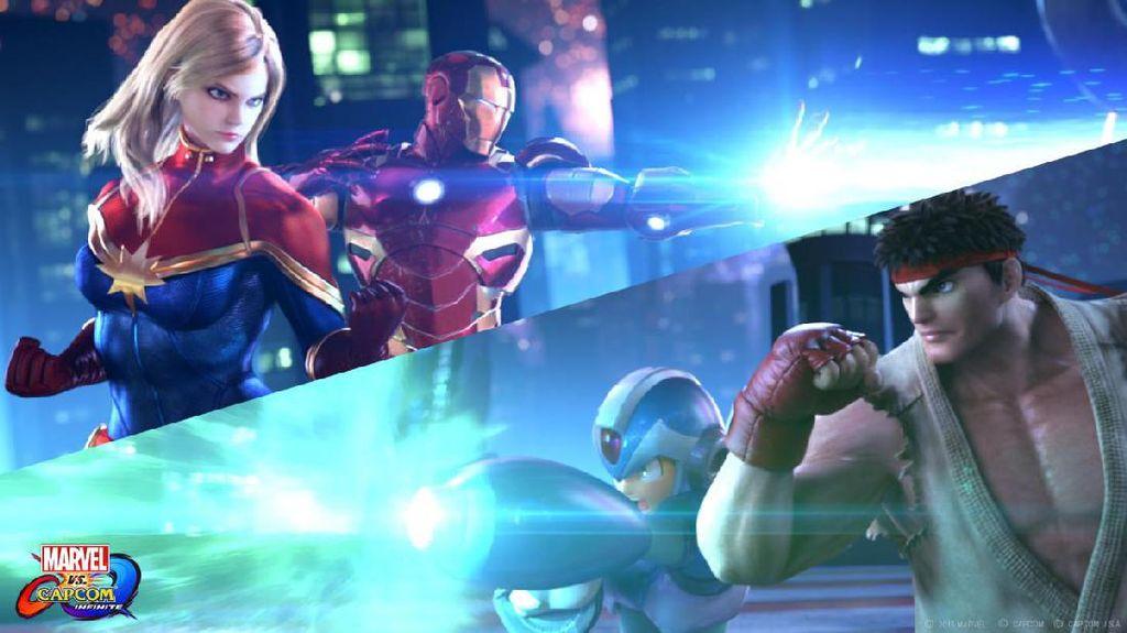 Serunya Ryu Lawan Iron Man di Marvel vs Capcom: Infinite