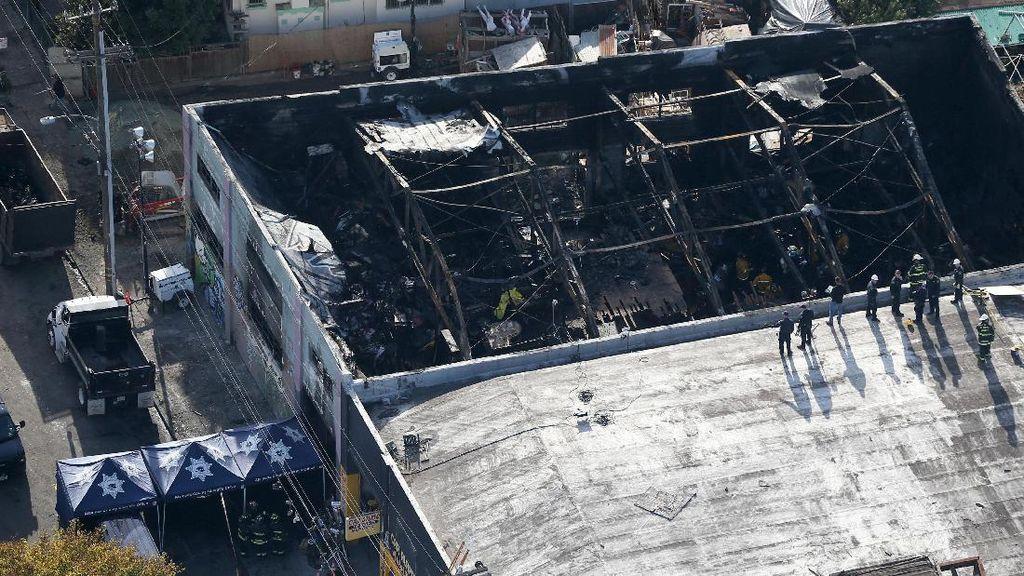 Korban Tewas Kebakaran di California Bertambah Jadi 33 Orang