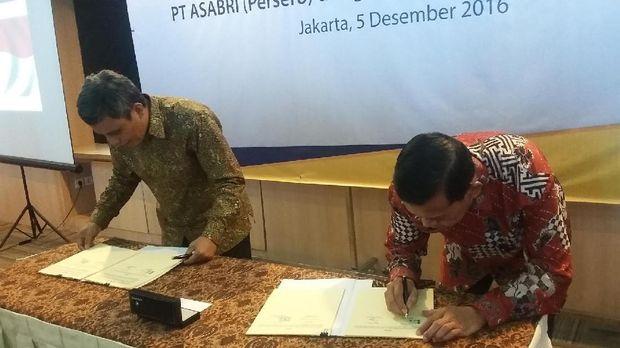 Layani Pensiunan TNI Polri, Bank Mantap Gandeng Kerjasama dengan ASABRI