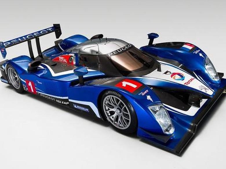 Peugeot Siapkan Mobil Balap Le Mans