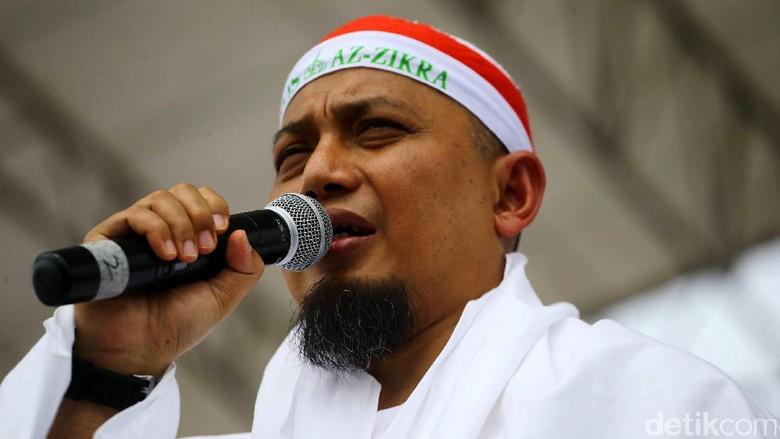 Arifin Ilham Harap Habib Rizieq Segera Pulang dengan Keberkahan