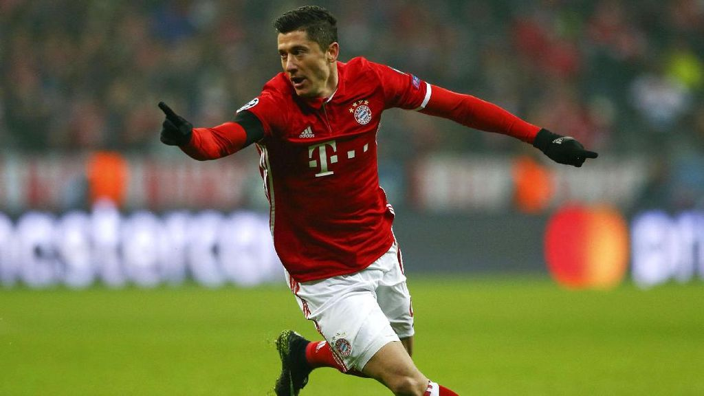 Lewandowski Menangkan Bayern Atas Atletico