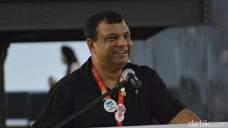 Foto: Tony Fernandes (Dana Aditiasari/detikFinance)