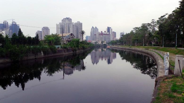 Sungai Cinta yang mengalir di Kaohsiung, Taiwan (Wahyu/detikTravel)