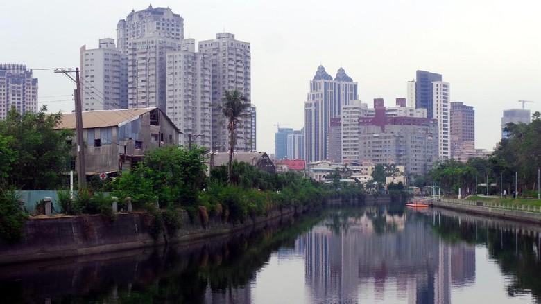 Sungai Cinta, sungai cantik yang membelah Kota Kaohsiung di Taiwan (Wahyu/detikTravel)