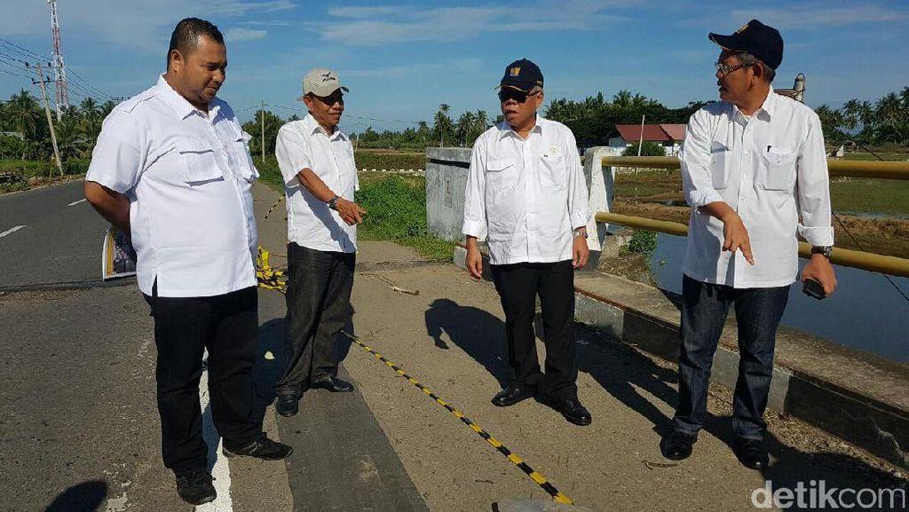 Menteri PUPR Cek Kondisi Infrastruktur Aceh Pasca Gempa