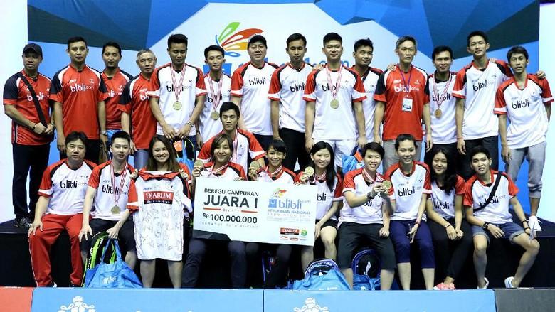 Kalahkan Jaya Raya Jakarta 3-0, Djarum Kudus Juara Nasional