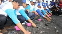 Pemkab Banyuwangi dan Pertamina Kompak Bersih-bersih Pantai Grand Watu Dodol