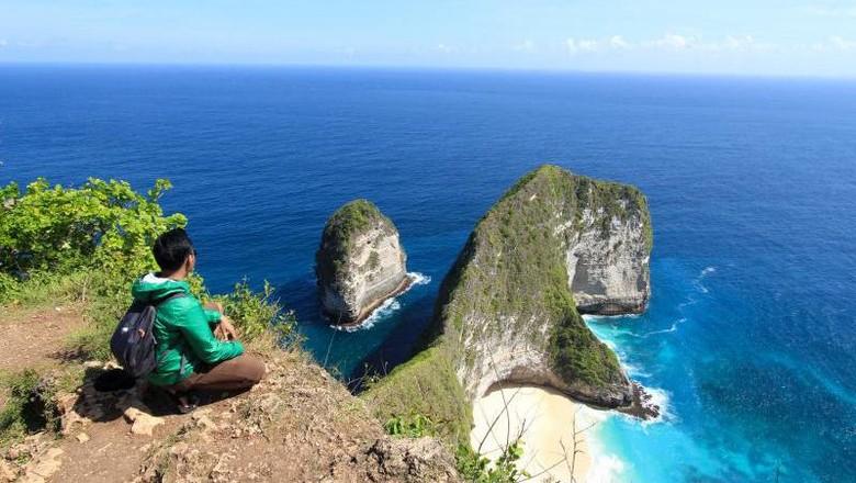 Foto: Pantai Klingking di Nusa Penida